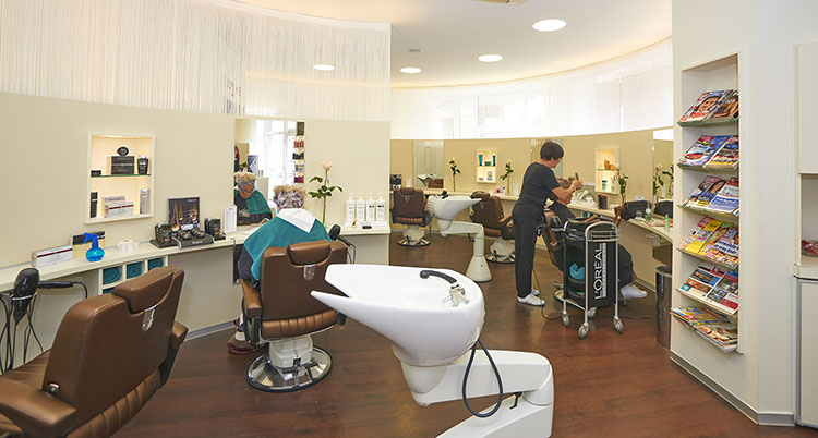 Chez Mare Blick in den Salon